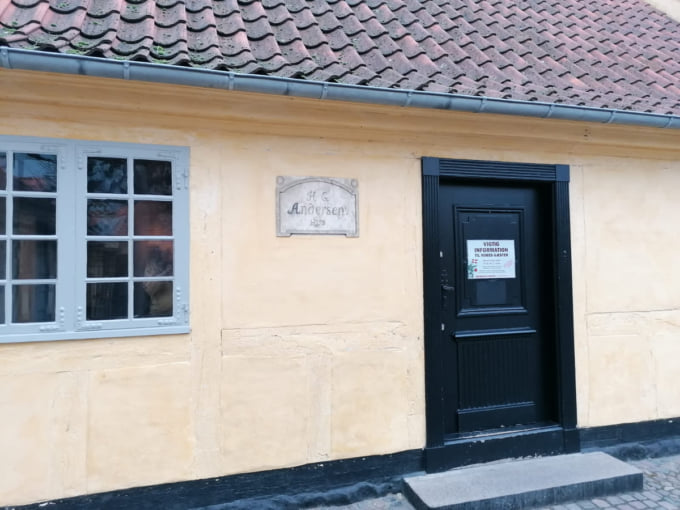 The house Hans Christian Andersen was born in