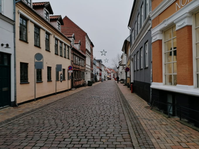 Odense Denmark during the COVID-19 pandemic