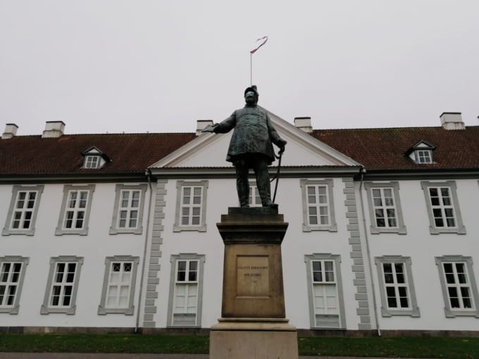Statue of King Frederik the 7th of Denmark
