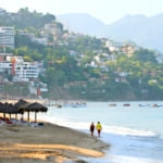 Stunning beach in Puerto Vallarta, Riviera Nayarit region and Bahía de Banderas