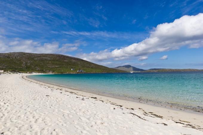 Vatersay beach isle of Barra
