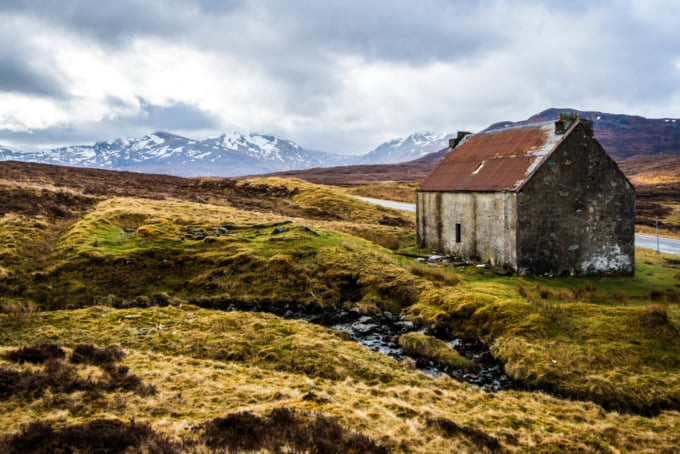 Bothy in Scotland