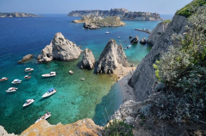 Beautiful view of Isole Tremiti, Italy