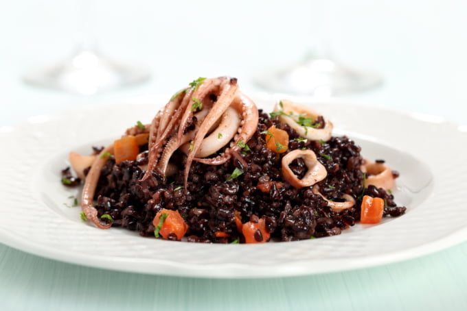Crni Rižot, Croatian Black Risotto