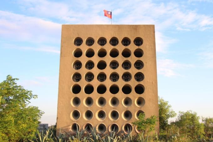 Beishan Broadcasting Wall in Kinmen
