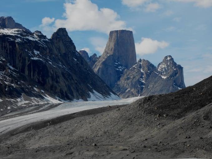 Mount Asgard, Auyuittuq National Park, Baffin Island, Canada