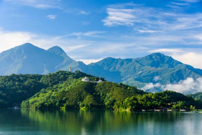 Beautiful scenic view in Taiwan