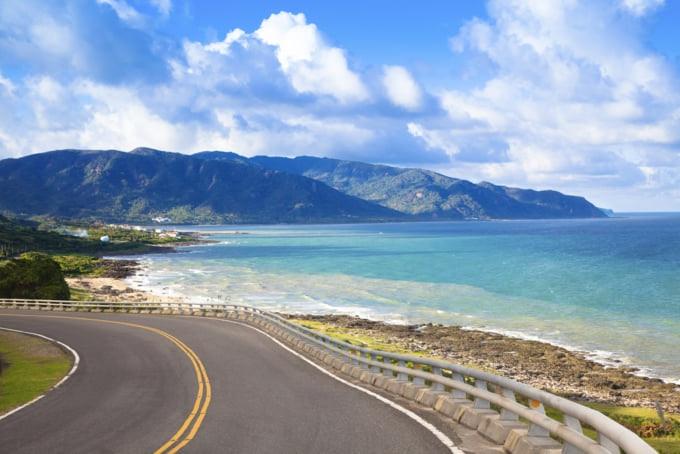 things to do around the coastline of Taiwan