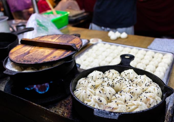 Shilin Night Market Michelin star vendor dumplings
