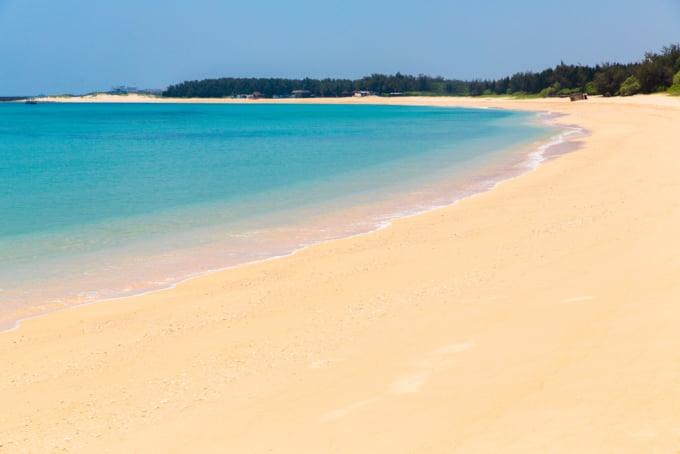 Beautiful beaches in Taiwan