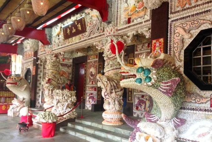 Seashell Temple in Taiwan