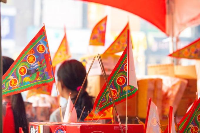 Ghost festival in Taiwan