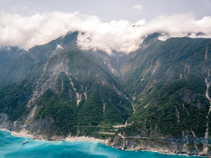 Suhua Highway, Yilan to Hualien road