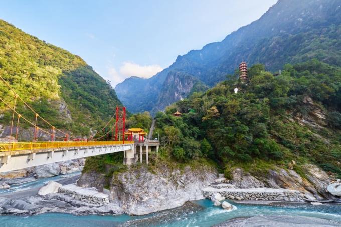 Tianxiang area in Taroko Gorge National Park