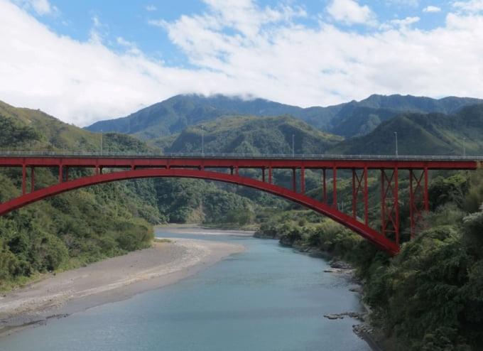 Luofu Bridge Taoyuan Taiwan