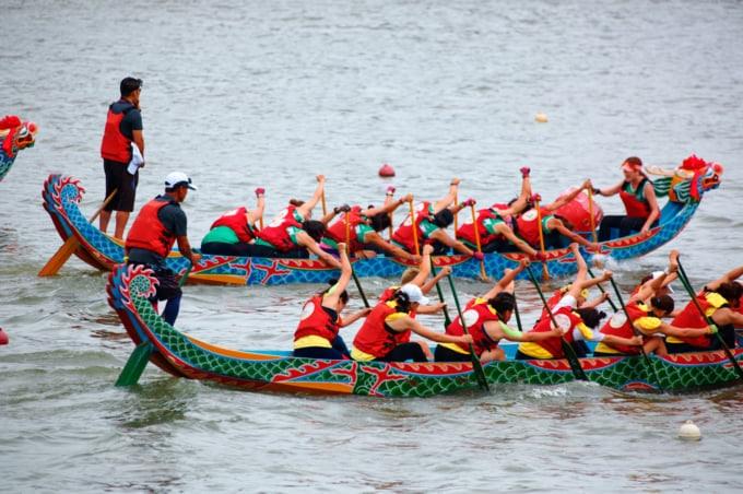 Dragon boat festival in Taiwan