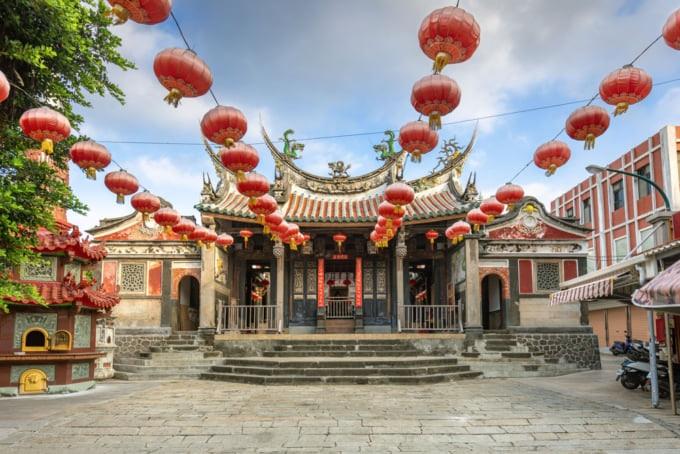 Oldest Temple in Taiwan Penghu
