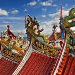 Taiwan Temple scenery