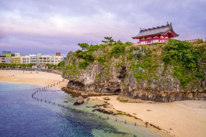 Naminoue Shrine famous sight in Naha, Okinawa