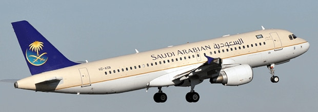 Find Cheap Flight Tickets For Saudi Arabian Airlines