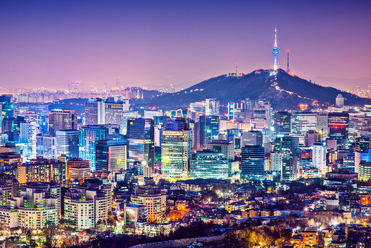 Flights to South Korea - Compare Airfares | skyticket | Return